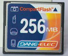Dane Elec 256MB compact flash card.