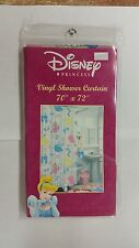 DISNEY PRINCESS VINYL SHOWER CURTAIN 70 INCH X 72 INCH NEW IN PACK
