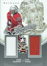 (HCW) 2011-12 ITG Between the Pipes Aspire MURPHY / WARD Dual Jersey 02288