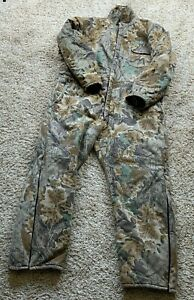 Red Head Jumpsuit Adult 3XL Camouflage Outdoor Gear Zip Up Quilted Hunting