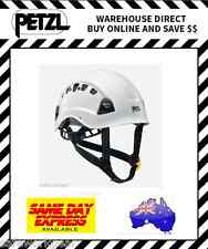 Petzl Vertex Vent Safety Climbing Helmet WHITE with Vents Head Protection