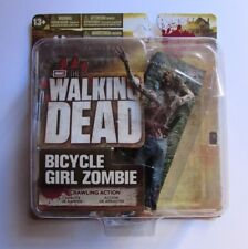 BICYCLE GIRL ZOMBIE ACTION FIGURE THE WALKING DEAD TV SERIES 2 MCFARLANE NEW