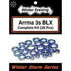 Arrma Big Rock Typhon Granite Senton 3s BLX Bearings (26 Pcs Bearing Kit)