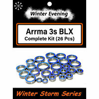 Arrma Big Rock Typhon Granite Senton 3s BLX Bearings (26 Pcs Bearing Kit)