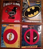 Official Super Hero Iron on Embroidered Patches