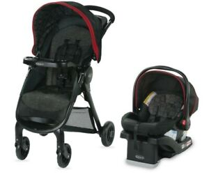 Graco Fastaction Travel System- Hilt