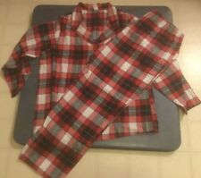 Sleep Chic Women s Plus Size 1X Red Plaid Sleep Set Brand New cde90eef8
