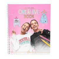 Depesche 10371  Malbuch Creative Book  Lisa und Lena J1MO71