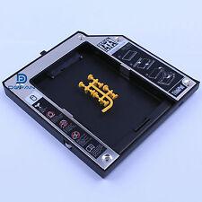 Second SATA hard drive Adapter Bay Caddy LENOVO Thinkpad T420 T520 W520 12.7mm