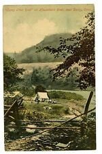 Derby Conn CT -CAMP OTTER ROCK ON HOUSATONIC RIVER- Postcard