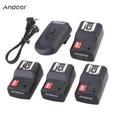 Andoer 16 Channel Wireless Remote Flash Trigger Set for Canon Nikon Neewer S1E6