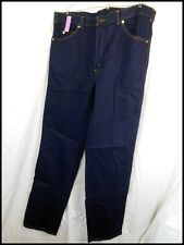 Vintage New Old Stock 1980s Australian Made Levi's Dark Blue Denim 547 Jeans W40