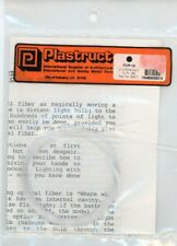 Plastruct 0.01 Fibre Optic 10 Pcs Set #92501