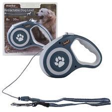 Retractable Dog Lead Flexible Locking Extending Leash Comfort Padded Large 8m ##