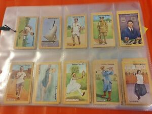 British Champions of 1923 - Gallaher - Complete Your Set