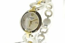 Tissot T084.210.22.117.00 Pinky MOP Dial Two Tone Chain Ladies Watch