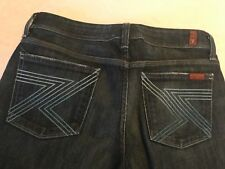 Women's SEVEN FOR ALL MANKIND denim jeans FLYNT size 29! Excellent condition!