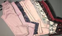 NWT Victoria's Secret Satin Lounge Pocket Pajama PJ Sleep Pants XS, S, M