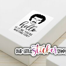 120 FUNNYLIONEL RICHIE MAIL PACKAGE BUSINESS STICKERS LABELS THANK YOU