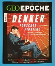 Geo Epoche Nr.105 Denker Forscher Pioniere  ungelesen 1A abs. TOP