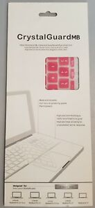 Crystal Guard MB MacBook Unibody Pro/Air Keyboard Cover Spill Protection Pink