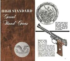 High Standard 1964 Handgun Catalog
