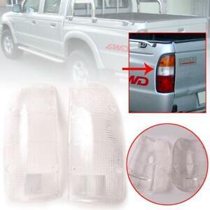 Tail Lamp Rear Light Lenses Pair Fits Mazda B2500 Pickup Before Facelift 98-01