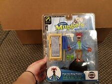 """Muppet Show """" Pepe the King Prawn """" series 5 figure by Palisades Toys NEW MIB"""