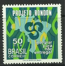 BRAZIL. 1970. Rondon Project Commemorative. SG: 1293. Unused.