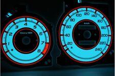 Mazda Xedos 6 9 Millenia glow gauges dials plasma dials kit tacho design 2 Xedos