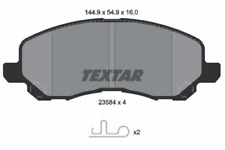 Textar Bremsbelagsatz VA Dodge Jeep Compass/Patriot Chrysler Sebring - 2358403