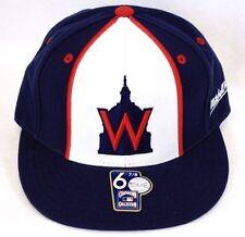 Washington Nationals Mitchell & Ness SENATORS Fitted Hat Baseball Cap 6-7/8