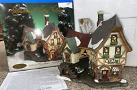 Heartland Valley Christmas Village Lighted ~ CRAFT SHOP W 6' Cord, Bulb & Inst