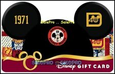 DISNEY 2011 USA MAGIC KINGDOM PARKS RIDES MOVIE STUDIOS COLLECTIBLE GIFT CARD