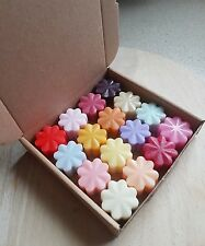 Job lot 16 scented soy wax melts tart candle oil burner electric melter warmer