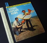 1956 Feb Vintage Model Airplane News USA Aeromodelling Hobby Magazine   (108)
