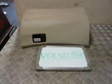 VOLVO S80 D5 2002 GLOVE BOX IN CREAM FAUX LEATHER