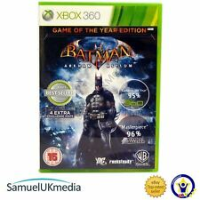 Batman Arkham Asylum - Game of the year (Xbox 360) **IN A BRAND NEW CASE!**