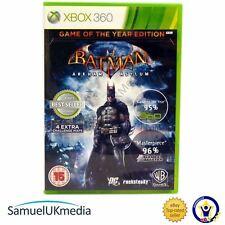 BATMAN ARKHAM ASYLUM-Game of the Year (XBOX 360) ** in un caso nuovo di zecca! * *