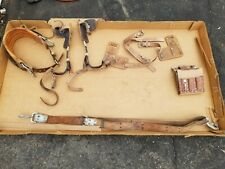 Stinger Vintage Linemen Climbing Gear, Spikes and Belt