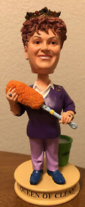 Queen of Clean Linda Cobb Bobblehead DIY Nearly Mint Condition House Maid