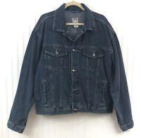 Old Navy Men's Vintage Old Navy Blue Jean Denim Jacket Medium Blue Wash Size XL