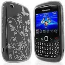 Cover e custodie nero BlackBerry in silicone/gel/gomma per cellulari e palmari