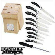Iron Chef America 11 Piece Cutlery Knife Set Brand New - Msrp $229.00!