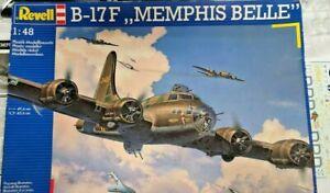 "★★★ Revell (04297) B-17F ""MEMPHIS BELLE"" 1:48 à monter★★★"