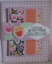 Stampin Up! Card Kit Pansy Petals Fun Fold Thinking of You Gorgeous Purple