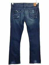 BKE Jeans Sabrina Boot Stretch Dark Wash Womens 27 x 31.5 Actual 28 x 31