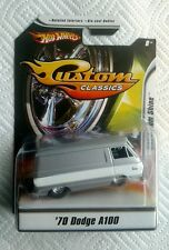 Hot Wheels Custom Classics Showroom Shine 1970 Dodge A100 1:50