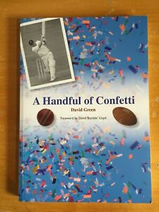 2013 Signed by author David Green a handful of Confetti 1st edition vgc