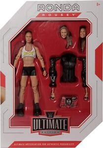 WWE Ultimate Edition: Ronda Rousey Action Figure Series 1 Mattel Elite Wrestling